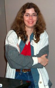 Writer Martha Wells at ArmadilloCon 2000
