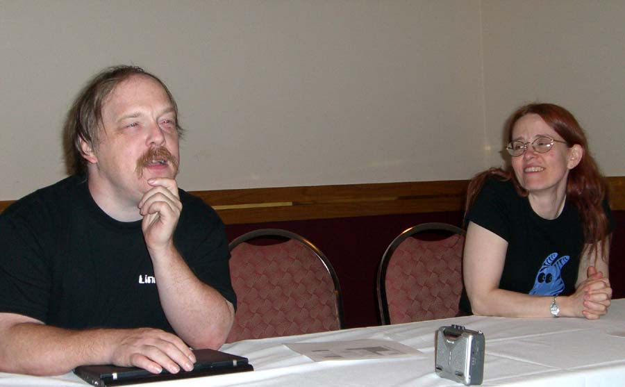 Eric and Cathy Raymond, Linucon 2005