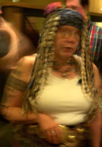 Barbara Hambly at ArmadilloCon 2004