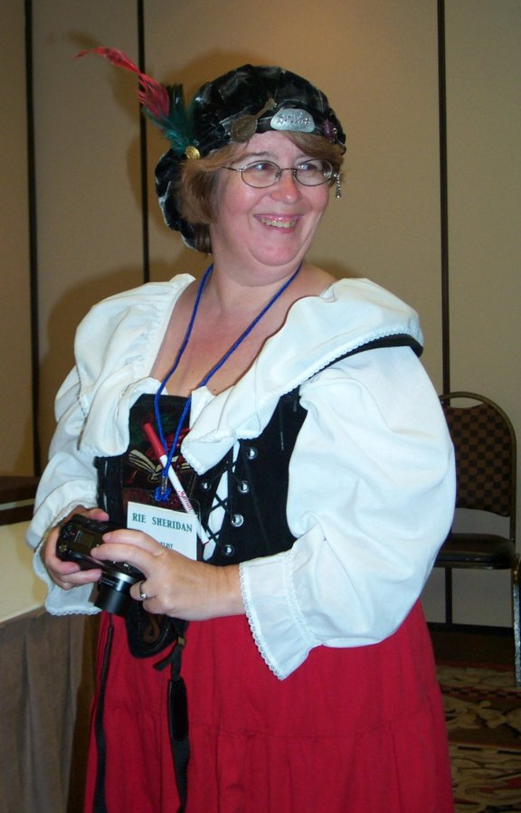Rie Sheridan at the ArmadilloCon 2004