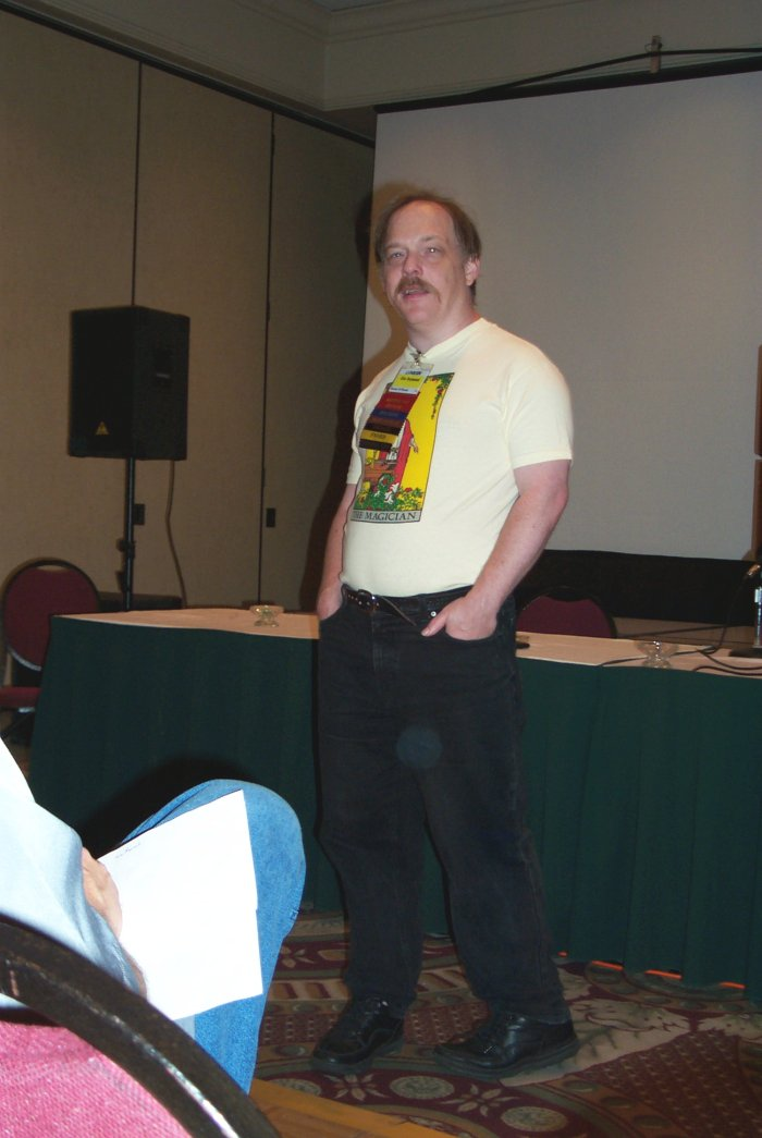 "Eric Raymond gives a speech ""The Basics of the Unix Philosophy"" at Linucon 2004, Austin, TX, 2004"