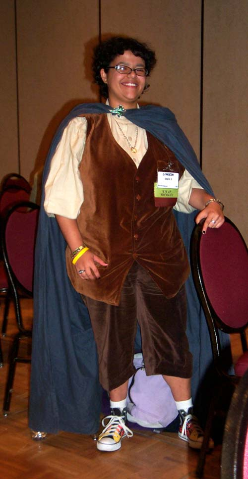Angie, the other of only two women who attended the Dating 101 panel at Linucon 2004