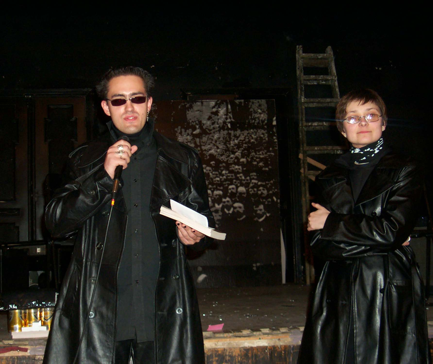 Award and closing ceremony at the Lituanicon 2004.