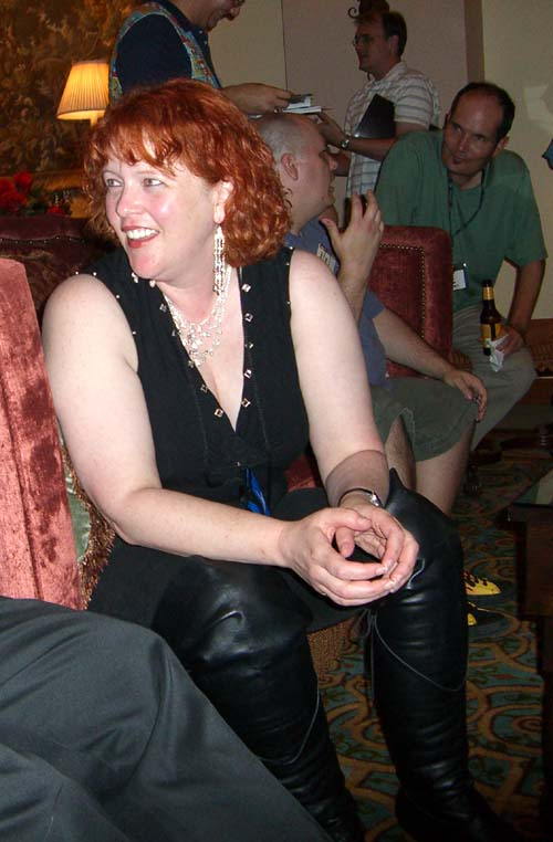 Julia Mandala at ArmadilloCon 2005, Austin, TX 2005