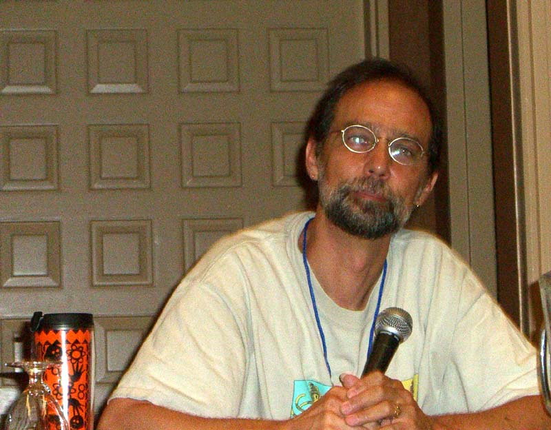 "Charles de Lint at ArmadilloCon 2005 panel ""Why we write fantasy"", Austin, Texas 2005"