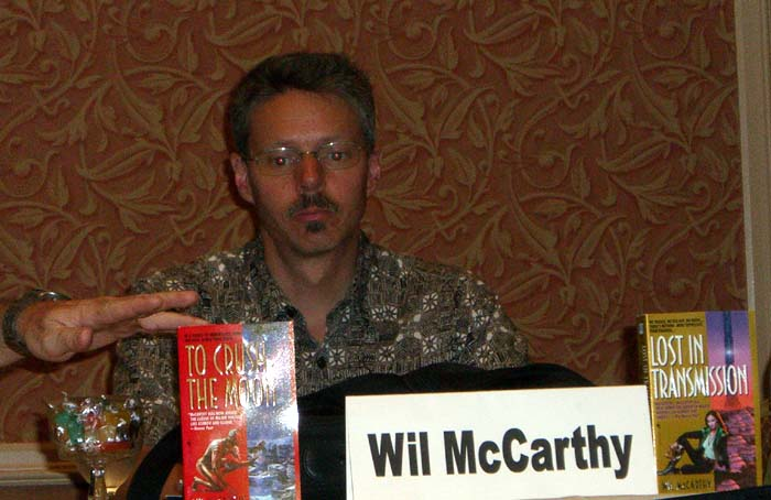 Wil McCarthy at the ArmadilloCon 2005 in Austin, TX, 2005