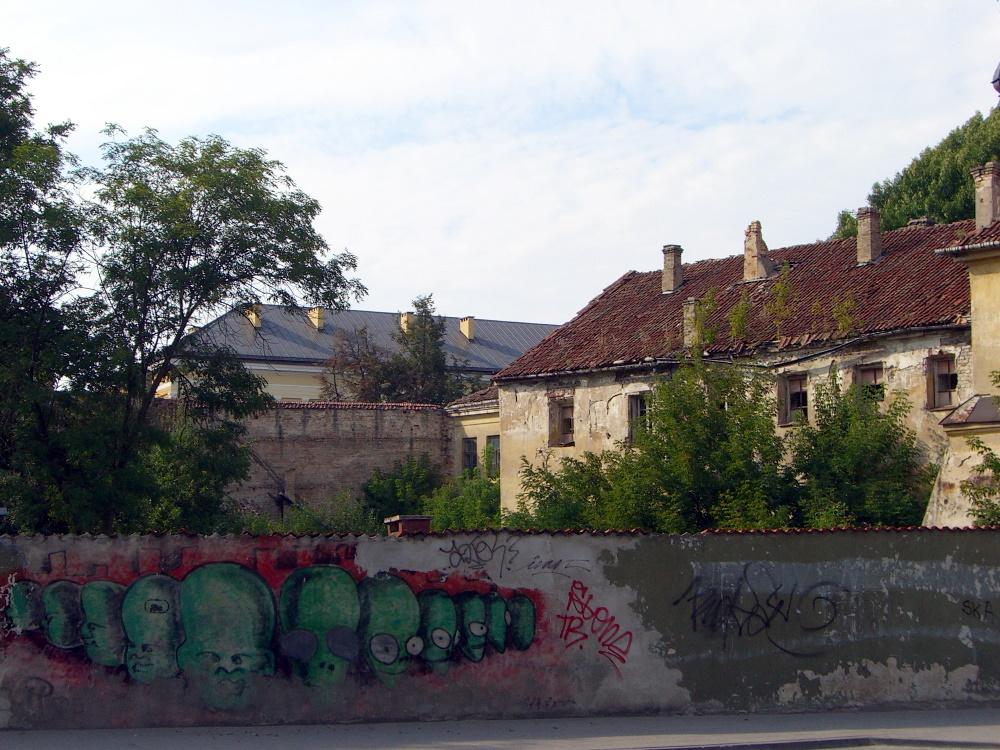 Old building near St. Ann's, September 2005