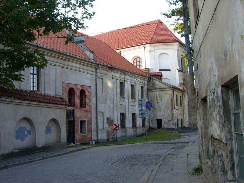 American Cultural Center in Vilnius, Lithuania, September 2005