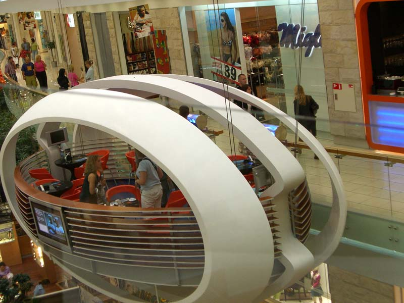 Ovoid Cafe in Europa shopping mall, September 2005