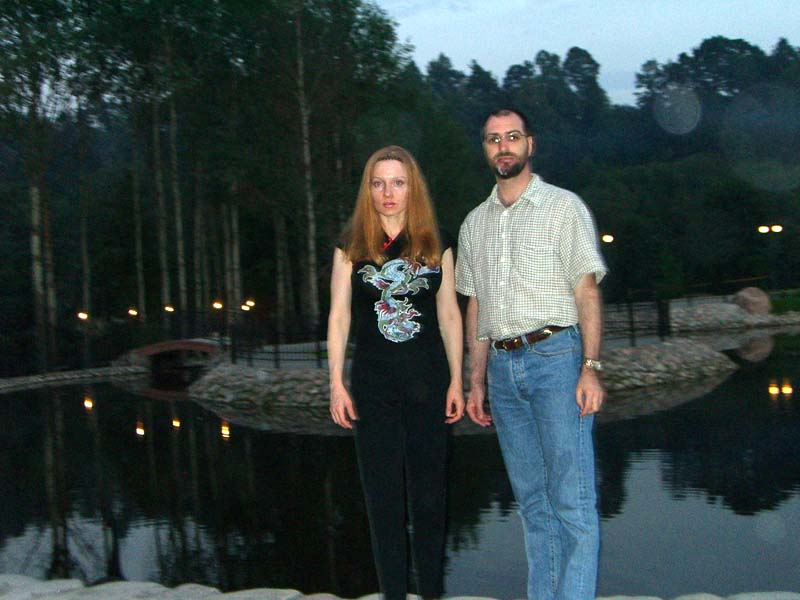 At the Waterfalls of Belmontas, September 2005