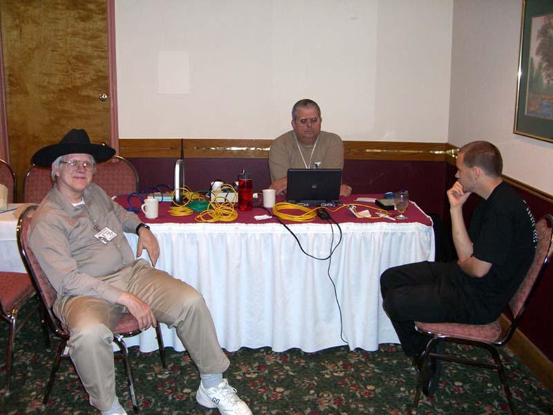 Austin Linux Group at Linucon 2005