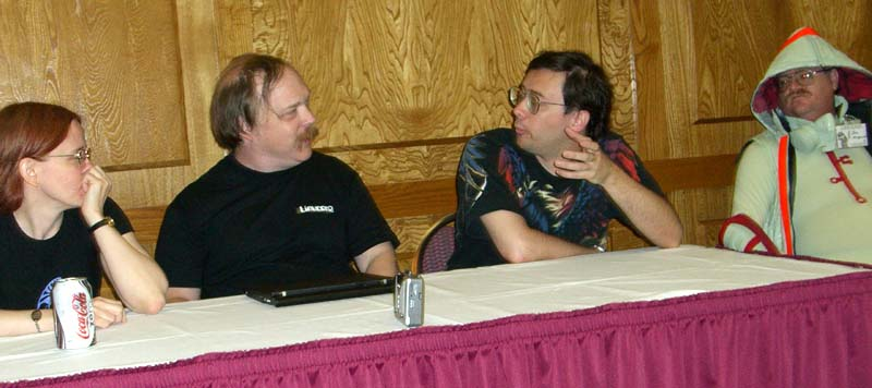 Pros and cons of the GNU General Public License panel at Linucon 2005