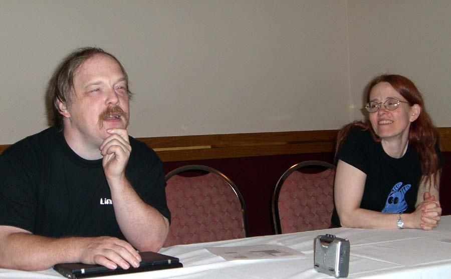 Guilty Pleasures panel at Linucon 2005