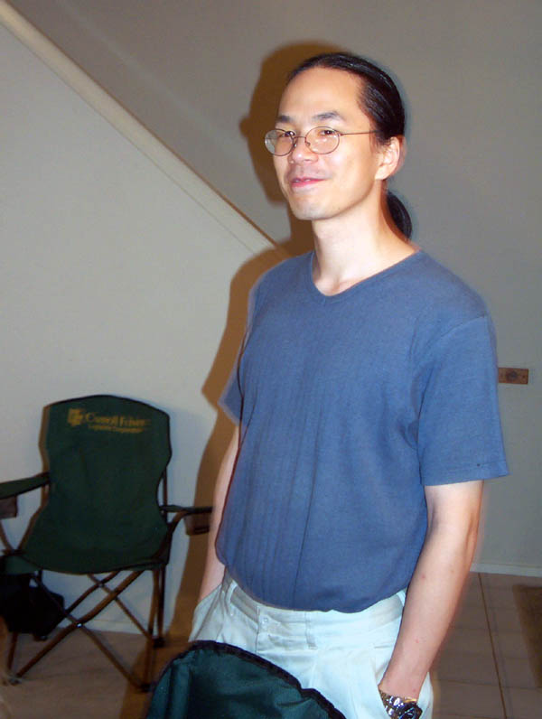 Ted Chiang, July 2005