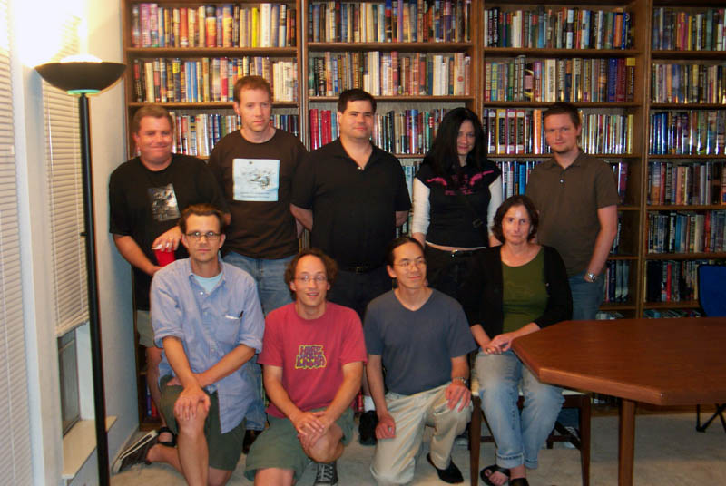 Members of Turkey City workshop, July 23, 2005