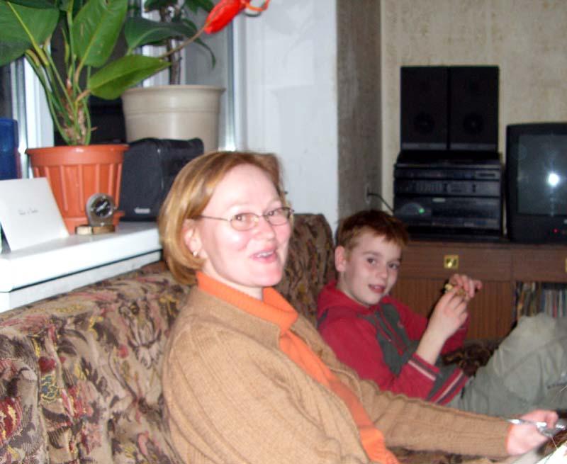 E and J, May 2006