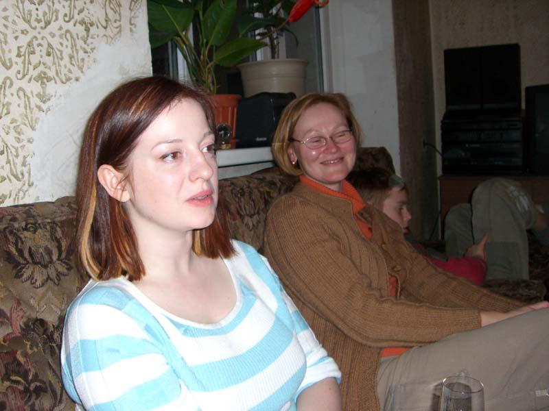 M and E, May 2006
