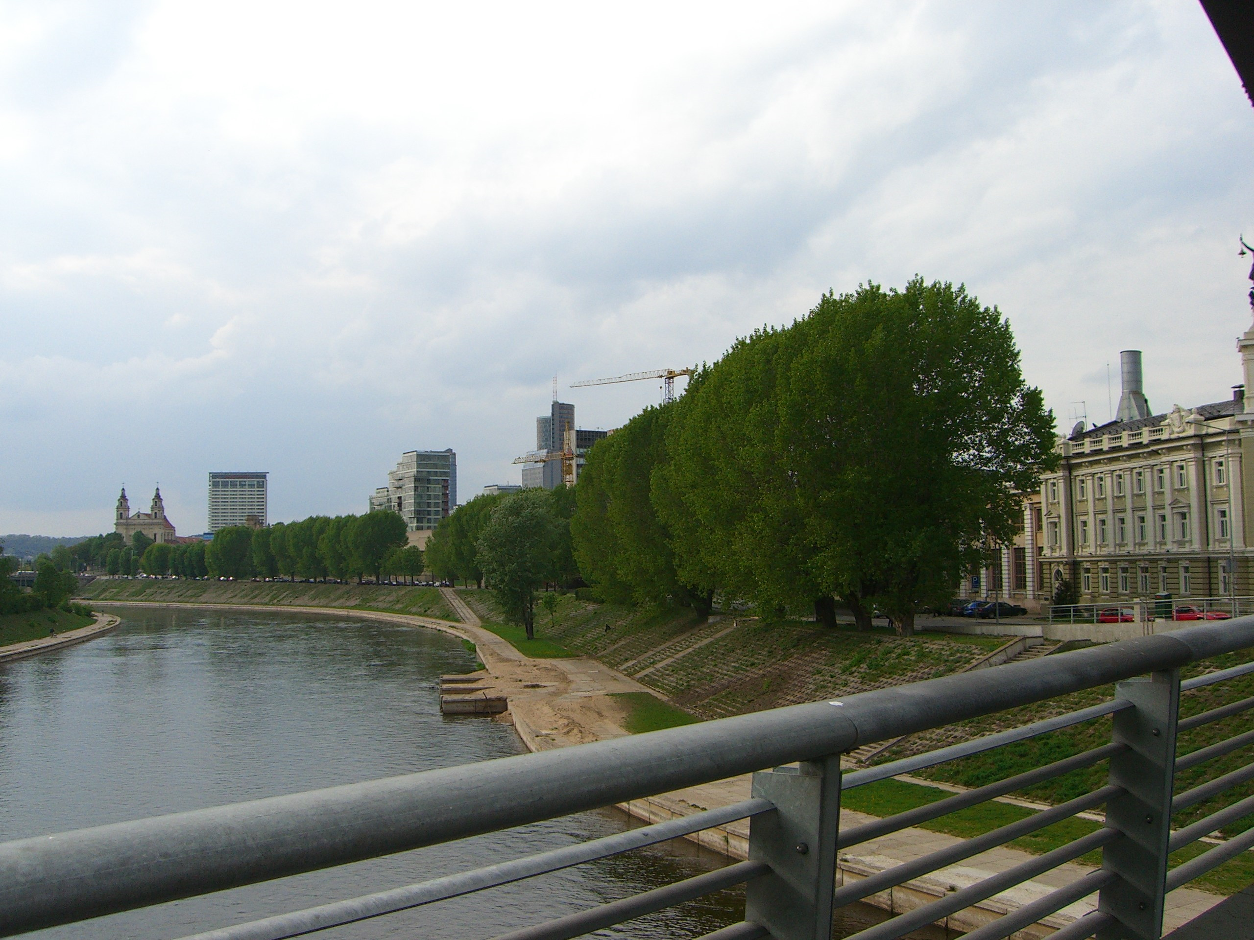 North bank of Neris river
