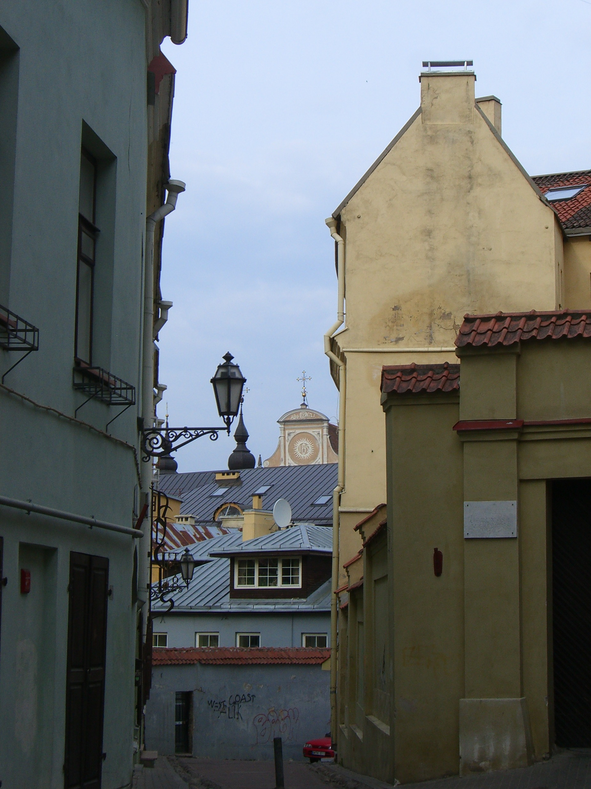 An alley in the Old Town