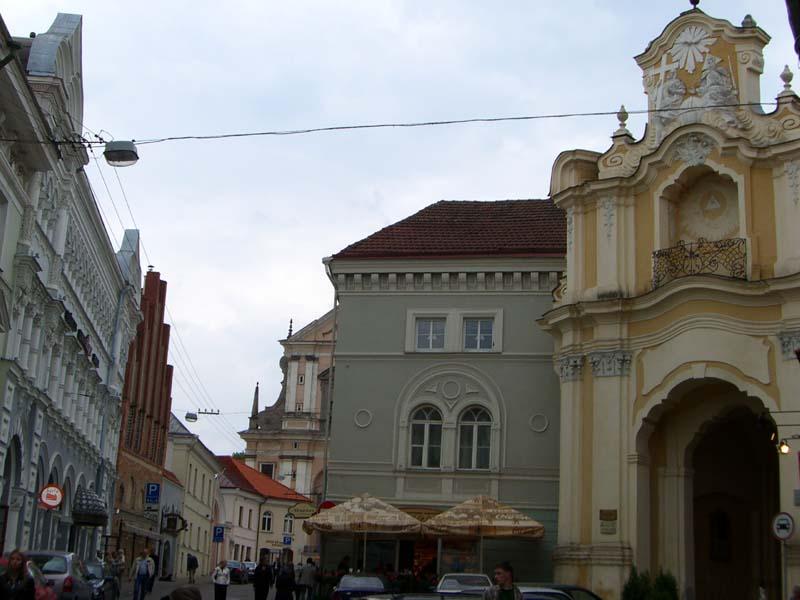 Entrance to the church of Holy Trinity and Basilian monastery