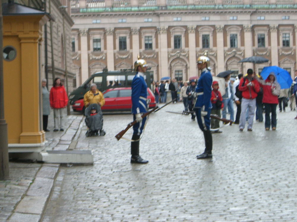 Changing of the ceremonial guard