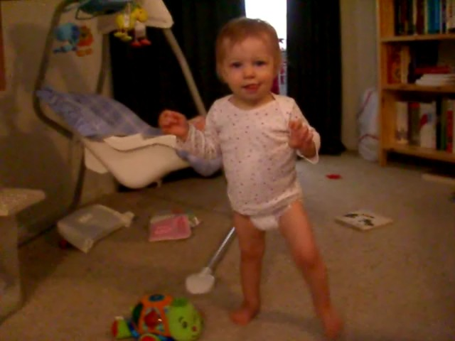 13-month old, learning to walk