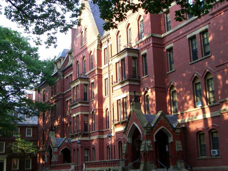 Matthews Hall in Harvard Yard