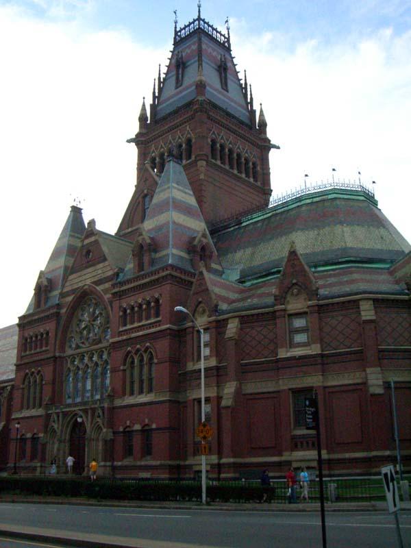 CIMG3358 Memorial Hall in Harvard campus