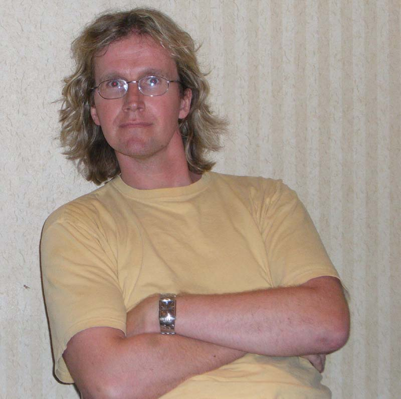 Scott Bakker at Readercon 2006