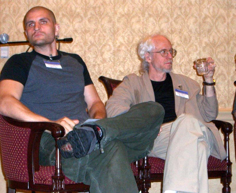 The War of Worldviews panel at Readercon 2006