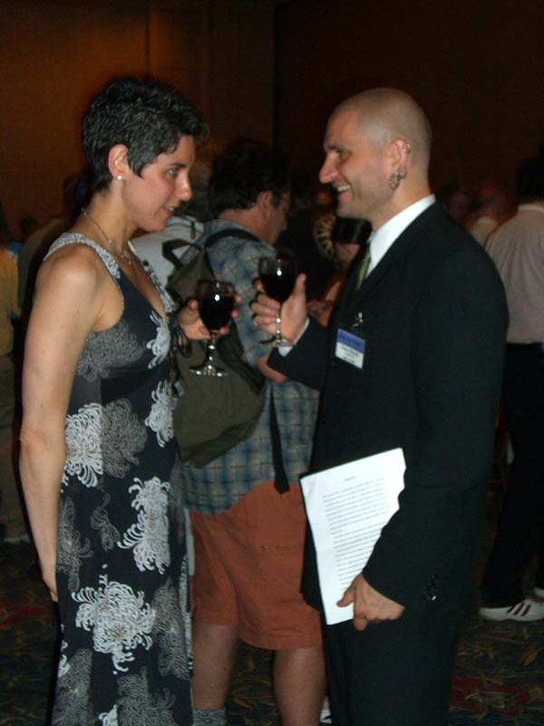 China Mieville and Jesse at Readercon 2006