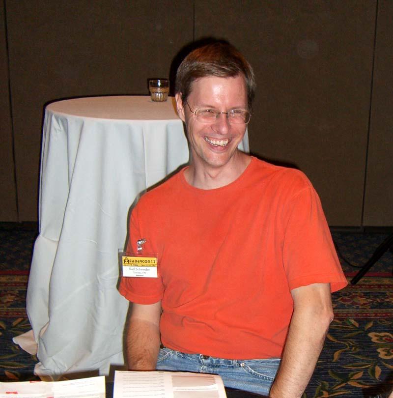 Karl Schroeder at Readercon 2006
