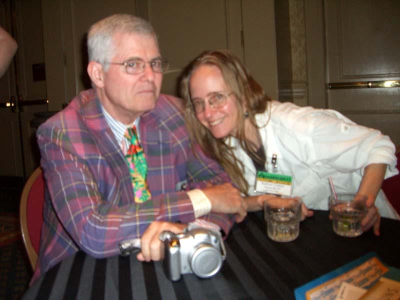 David Hartwell and Kathryn Cramer at Readercon 2006