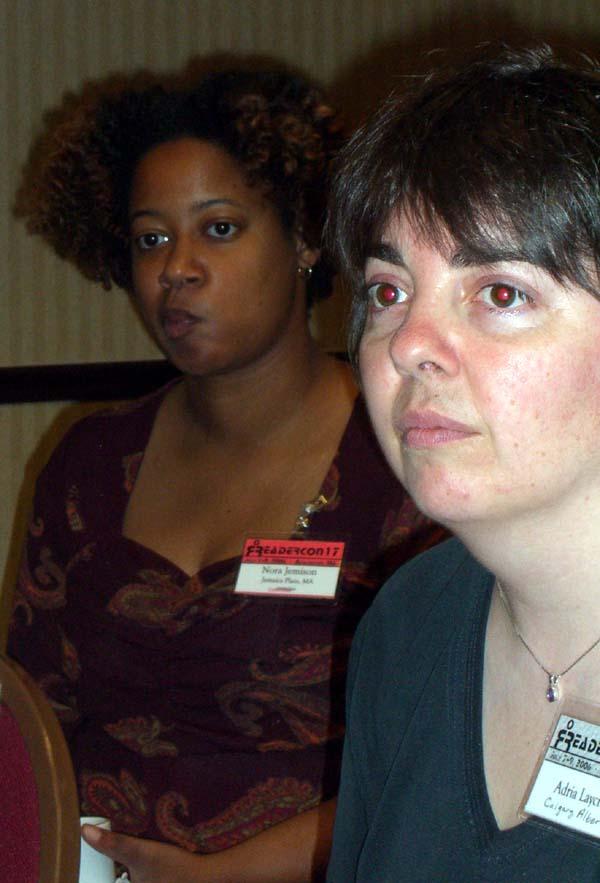Nora at Readercon 2006
