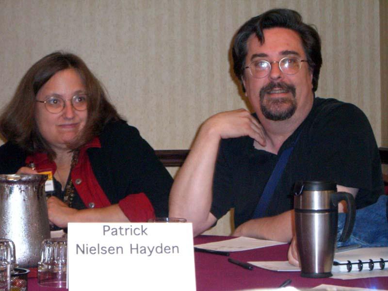 Editors Teresa and Patrick Nielsen Hayden at Readercon 2006