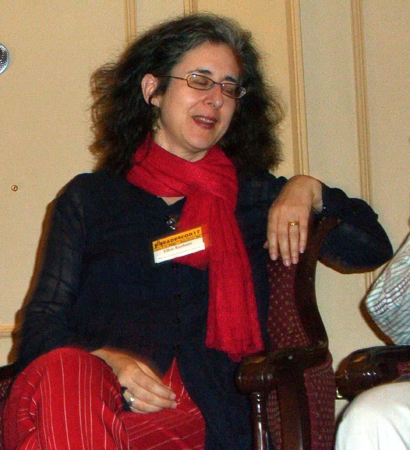 Ellen Kushner at Readercon 2006