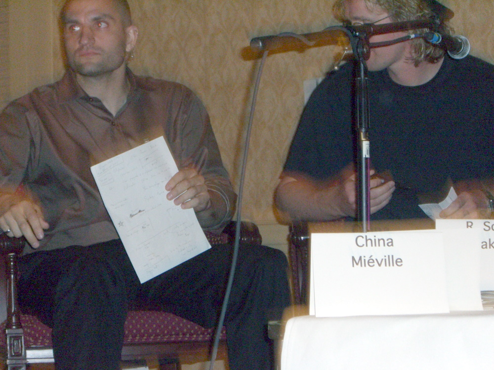 The Uncomfortable panel at Readercon 2006