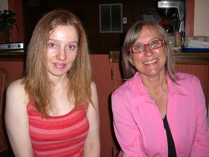 Julie Czerneda and me, August 2006