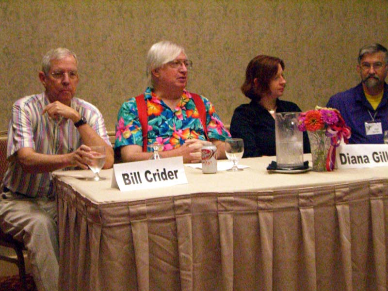 What You Should Have Read This Year panel at the ArmadilloCon 2006