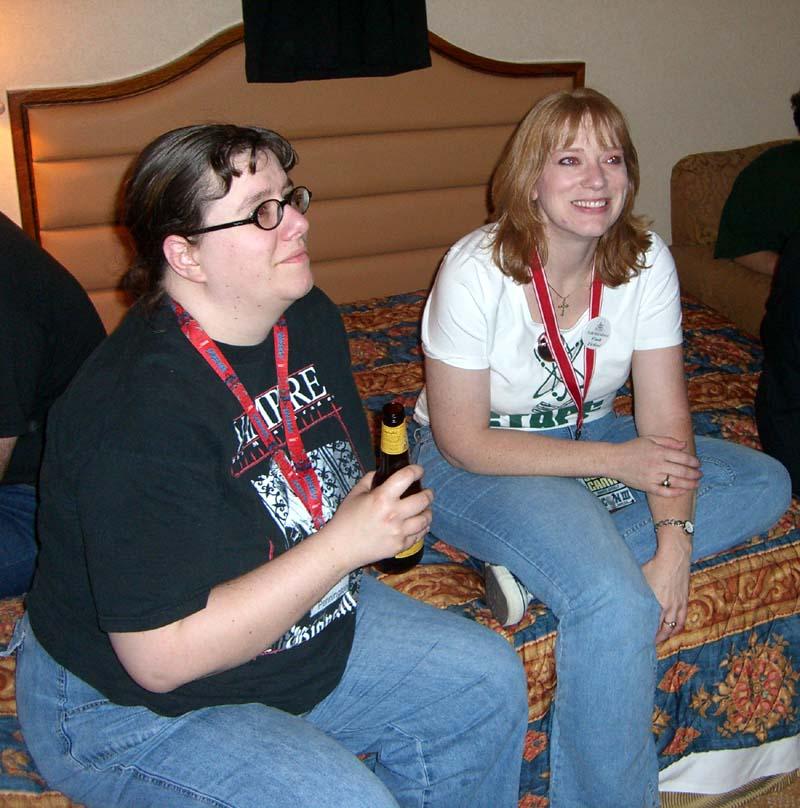 Fencon party at the ArmadilloCon 2006