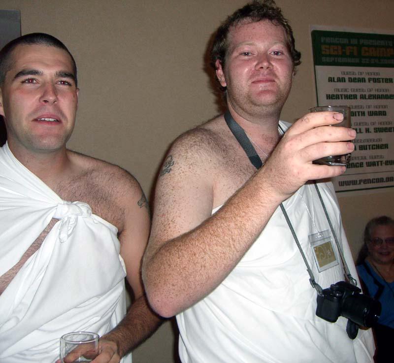 Saturday night party at ArmadilloCon 2006