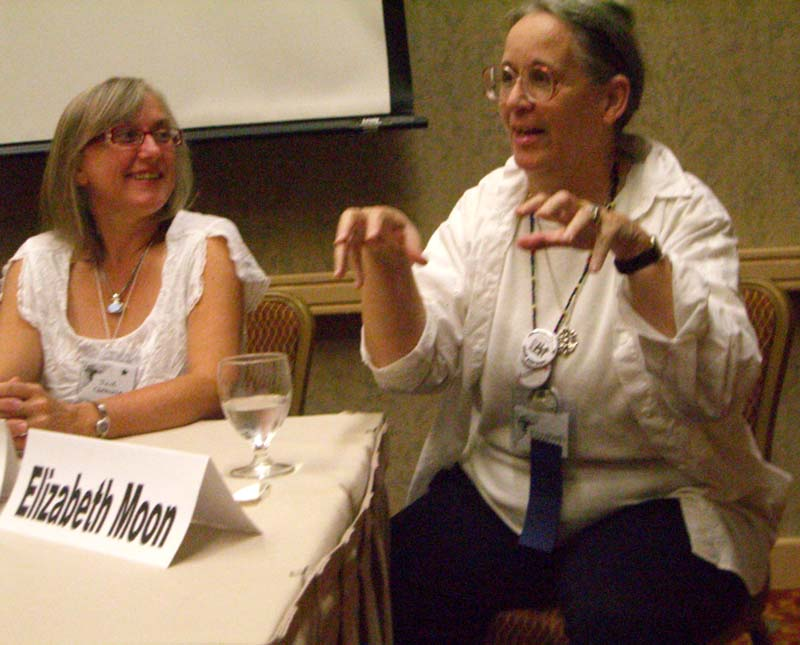 Building A Better Alien panel at ArmadilloCon 2006