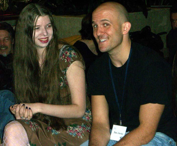Editor LG and BC at the World Fantasy Convention 2006