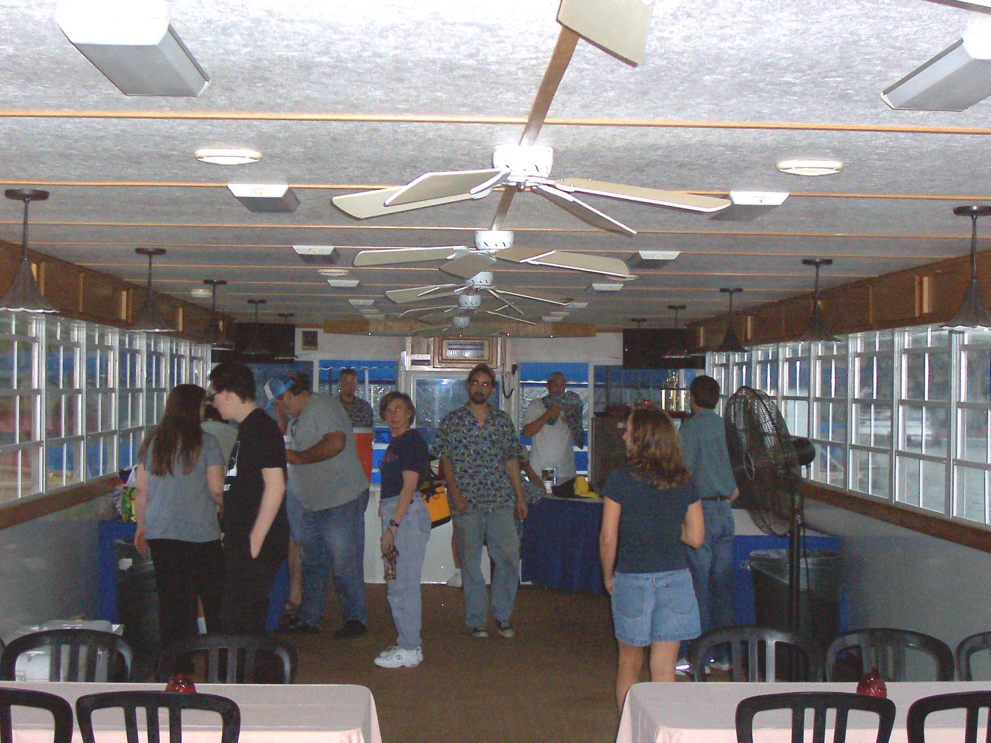 ACAers inside the cruise boat, September 2006