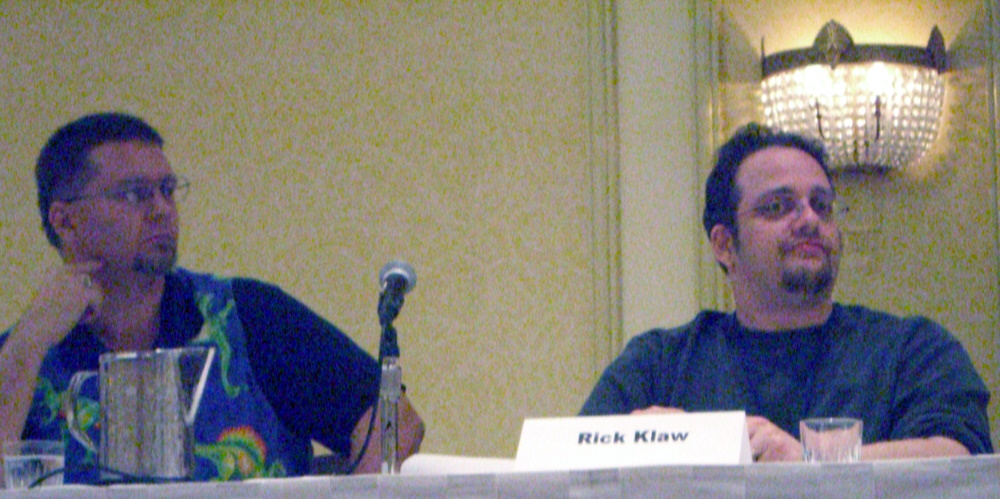 Lone Star State of Fantasy panel at the World Fantasy Convention 2006