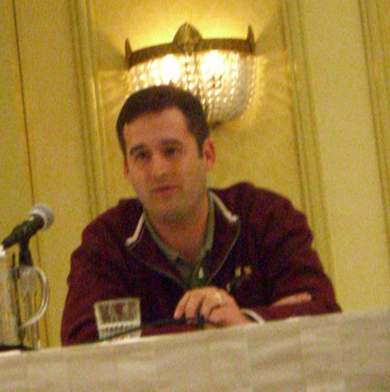 Eric Marin at the Lone Star State of Fantasy panel at the World Fantasy Convention 2006