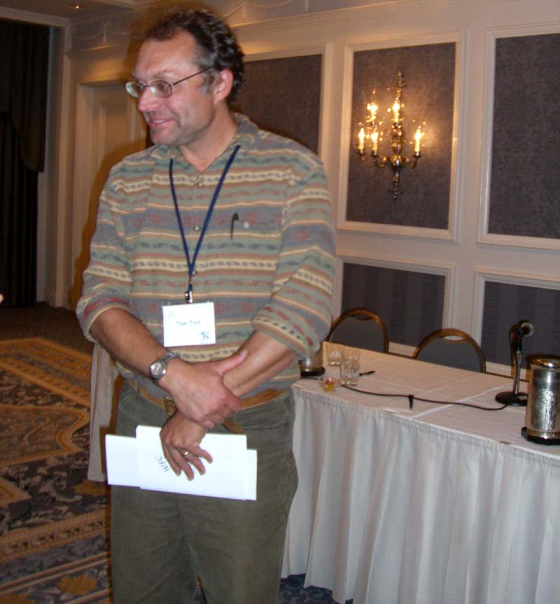 World Fantasy Convention 2006, Friday: author PP