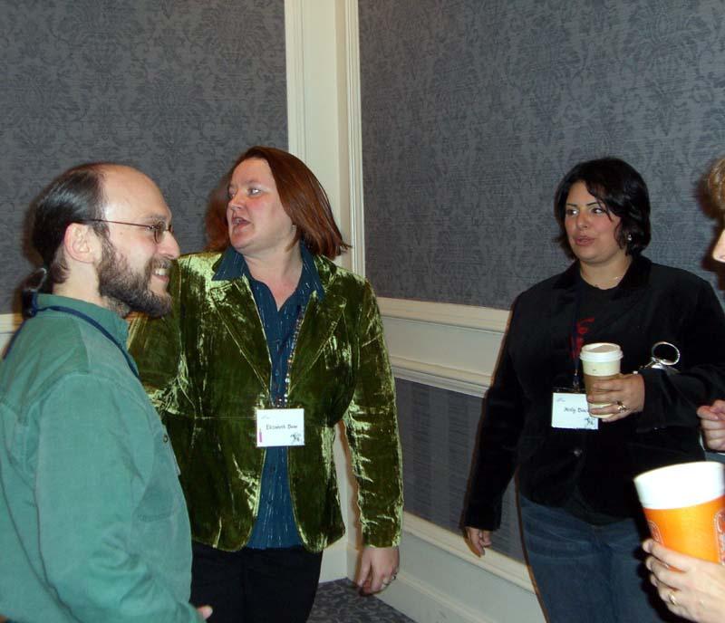 World Fantasy Convention 2006, Friday: DL, EB, HB