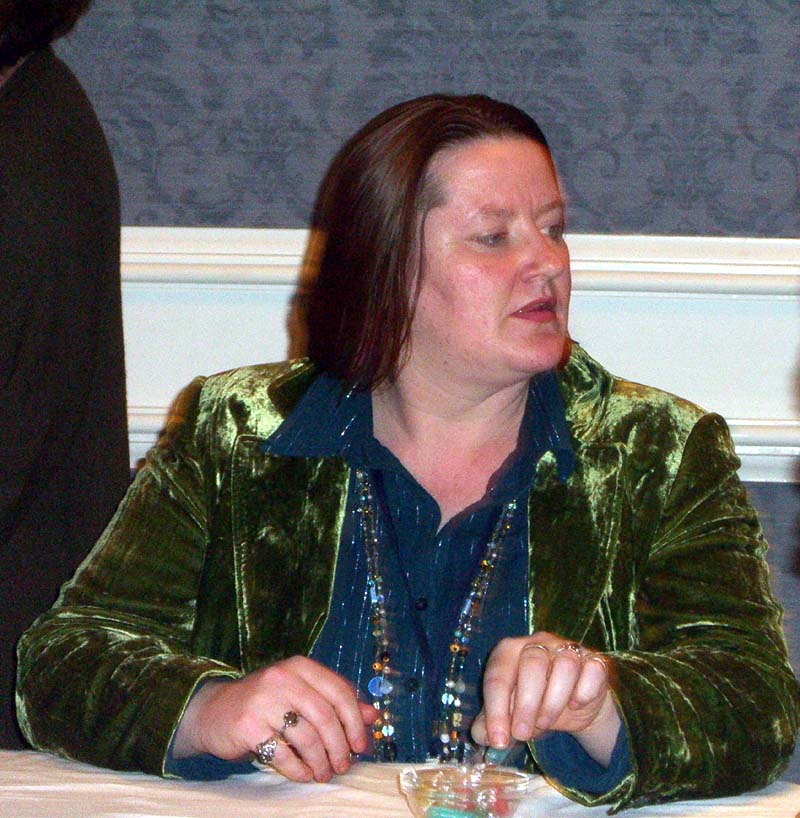 EB on the Fantasy, Blogosphere and Social Networking panel at the World Fantasy Convention 2006