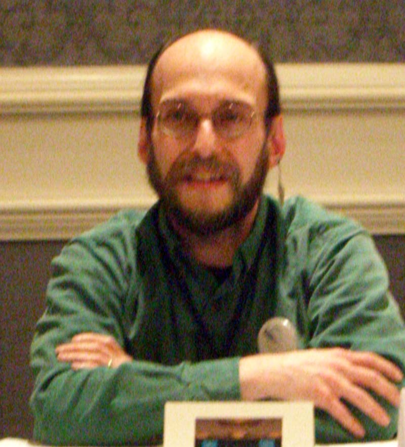 DL on the Fantasy, Blogosphere and Social Networking panel at the World Fantasy Convention 2006